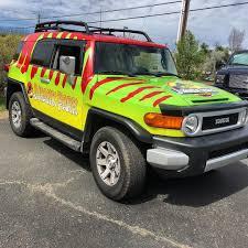 FJ Cruiser Jurassic Park Wrap | Wrapfolio