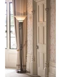 Halogen Floor Lamps Uk by Elstead Lighting Feiss Opera 1 Light Torchiere Floor Lamp In