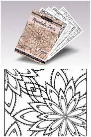 Digital Adult Coloring Book Mandala Laces Printable Pages For Adults PDF Advanced Sheets Mandalas Download