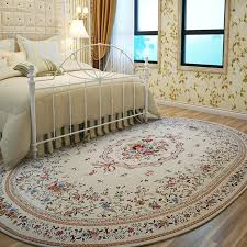 Oval Rugs For Dining Room Nordic Simplicity Carpets Living Elegant Bedroom And