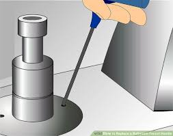 Sink Handles Turn Wrong Way by How To Replace A Bathroom Faucet Handle With Pictures Wikihow