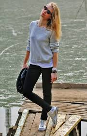 20 Cute Outfits To Wear With Converse Chuck Taylor Shoes