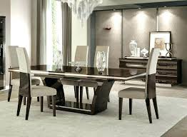 Black Dining Room Sets Modern Table Set Furniture By Contemporary Glass Din