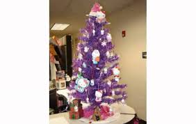 Pink Flocking Spray For Christmas Trees by White Christmas Tree Decorating Ideas Youtube