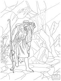 Elijah And The Widow Of Zarephath Prophet Christianity Bible Coloring Pages