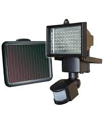 led solar security light requires no mains power and never needs