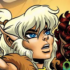 Elfquest On Twitter Our Book Line Of Beauty The Art Wendy