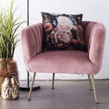 lounge sessel samt velvet rosa lounge sessel samt