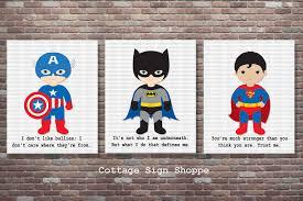 Superhero Bedroom Decorating Ideas by Super Hero Wall Image Gallery Superhero Wall Art Home Decor Ideas