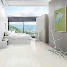 Kahrs Flooring Engineered Hardwood by Kahrs Ash Blizzard 2 Strip 193mm Matt Lacquer White Stained Bevelled