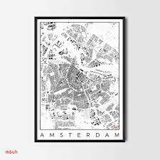 Cool Decorations For Posters Beautiful Amsterdam Map Poster City Art And Prints