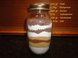 kuchen im glas auf vorrat gebacken