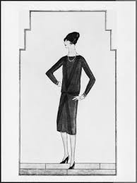 Cocos Little Black Dress In Vogue 1926Photo Via Article From The Archives Ten Firsts