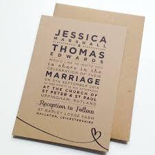 Invitations Rustic Wedding