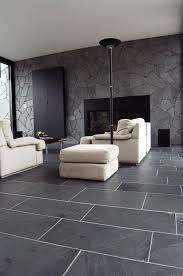 slate greay interiors schieferboden schwarzer