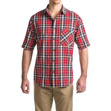 woolrich tall pine madras shirt for men