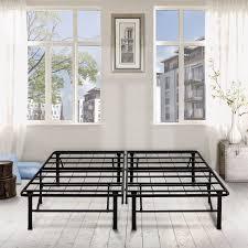 premier 14 high profile platform metal base foundation bed frame