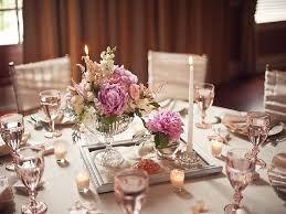 Dining Room Centerpiece Ideas Candles by Table Decoration Fancy White Wedding Table Decoration Using Small