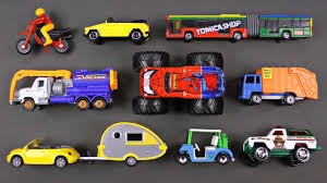 100 Toy Cars And Trucks Learning Street Vehicles For Kids 9 And By Hot Wheels