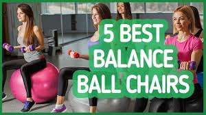 Gaiam Balance Ball Chair Replacement Ball by Best Balance Ball Chairs 2017 Youtube