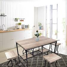 5-Piece Dining Set Industrial Style Wooden Kitchen Restaurant Table ... Korean Style Ding Table Wood Restaurant Tables And Chairs Buy Small Definition Big Lots Ashley Yelp Sets Glamorous Chef 30rd Aged Black Metal Set Ch51090th418cafebqgg 61 Tolix Rectangular Onyx Matt Chair Fniture Side View Stock Vector The Warner Bar In 2019 Fniture Interior Indoors In Vintage Editorial Photography Image Town Quick Restaurant Table Chairs Bar Cafe Snack Window Blurred Bokeh Photo Edit Now