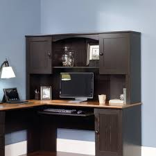 Walmart L Shaped Desk With Hutch by Computer L Shaped Desk Throughout Sauder Harbor View Corner