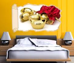 3d wandtattoo tapete osten gold reich rot asiatisch asien durchbruch selbstklebend wandbild wandsticker wohnzimmer wand aufkleber 11o1746