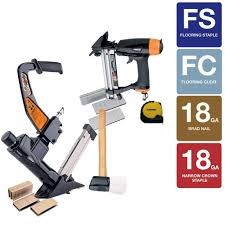 freeman pneumatic ultimate flooring nailer kit ufk1012 the home