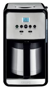 Savoy 12 Cup Programmable Stainless Steel Thermal Coffee Maker