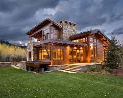 Rustic Modern Home Design Contemporary Homes Creative
