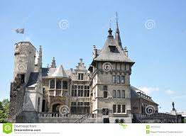 100 Where Is Antwerp Located Castle In The Town Of Belgium Stock Image Image
