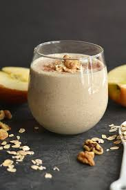 Pumpkin Pie Overnight Oats Rabbit Food by Toasted Walnut Apple Pie Smoothie Skinny Fitalicious