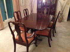 Ethan Allen Dining Room Set by Ethan Allen Country French 106 U2033 Oval Dining Table Bordeaux 216