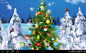 Best Type Of Christmas Tree Lights christmas live wallpaper android apps on google play