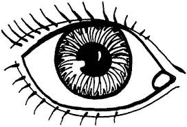 Eye Coloring Page For Kids