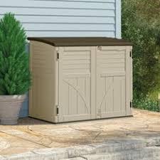 Suncast 195 Gallon Deck Box Manual by Suncast 195 Gal Backyard Oasis Vertical Deck Box Deck Box