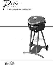 fresh char broil patio bistro electric grill manual amazing home