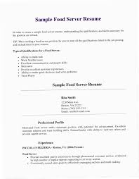 Server Resume Template YAKX Samples Elegant Soft Skills Examples For And