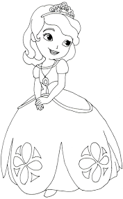 Sofia The First Coloring Pages Free Online Printable Sheets For Kids Get Latest Images