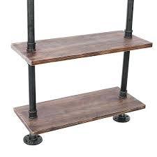 Wall Shelves Target Wood Tier Rustic Industrial Ladder Shelf Interior