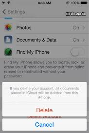 How to Delete iCloud Account Without Entering Password in iOS 7 1