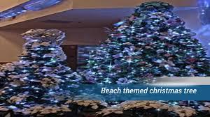 Seashell Christmas Tree Topper by Beach Themed Christmas Tree Youtube