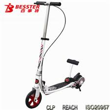 NEW JS 008A Without Electric Lightning Scooter Kubu Hot KICK N GO