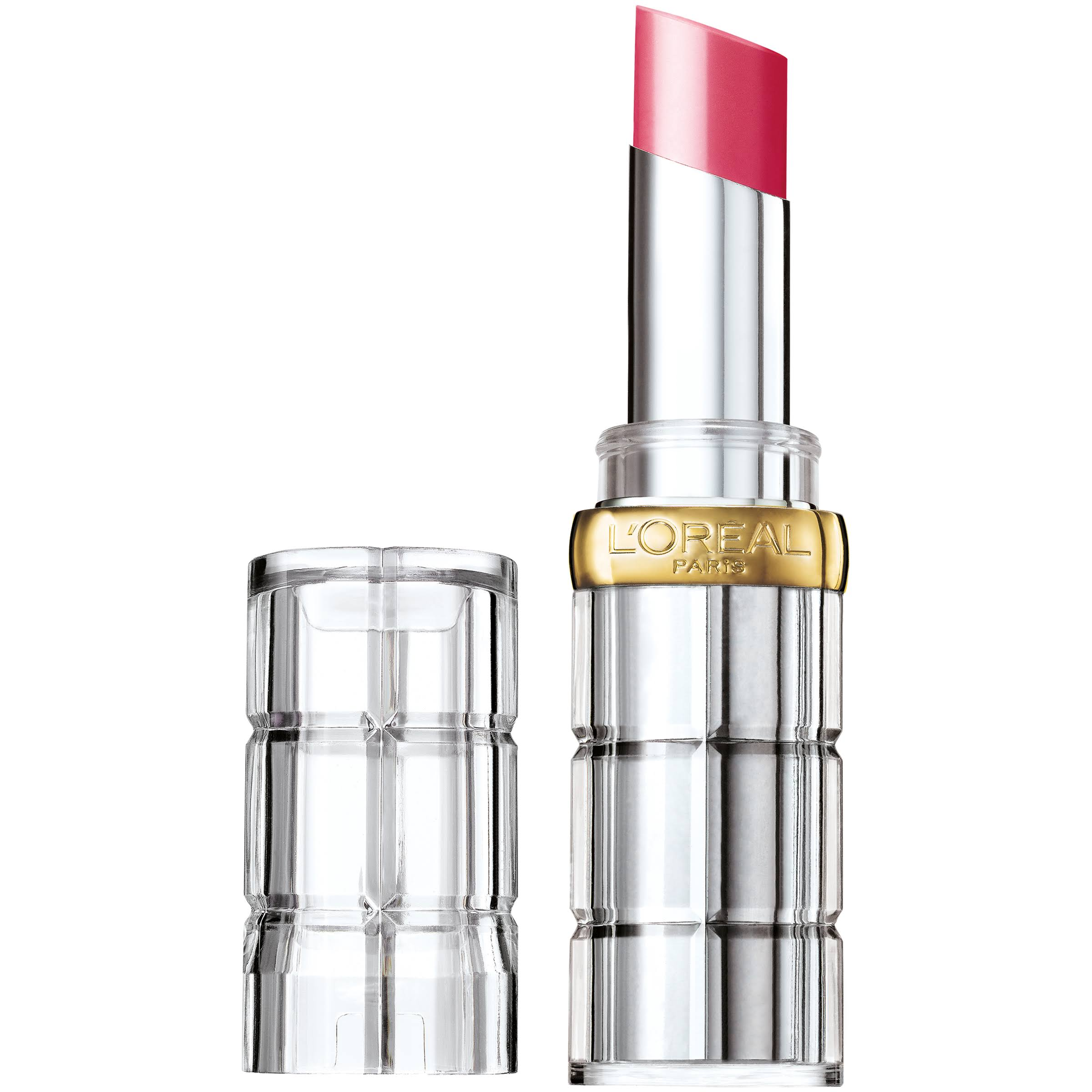 L'Oréal Paris Colour Riche Shine Lipstick - 922 Laminated Fucshia, 0.1oz
