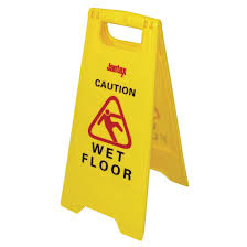 Caution Wet Floor Banana Sign by Wet Floor Signs And Floor Safety Signs Buy Online Nisbets