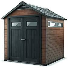 4x6 Outdoor Storage Shed by Amazon Com Keter Factor Large 8 X 6 Ft Resin Outdoor Backyard