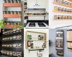 gewürzregal diy für die küche schaffen sie ordnung mit