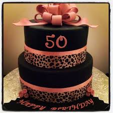 Pin By MLo18 On Desserts 50th Birthday Cake Images