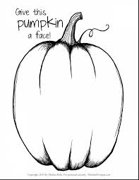 Incredible Printable Halloween Pumpkin Coloring Page With Pages Free And