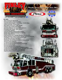 100 Pierce Fire Trucks For Sale Used Apparatus Finley Equipment Co Inc